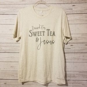 Christian Women's T-Shirt Sweet Tea and Jesus